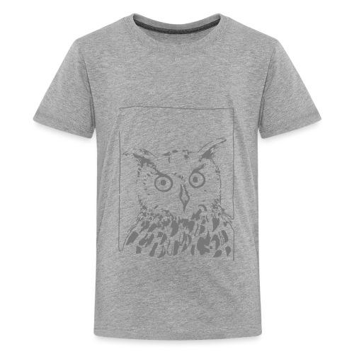 eule - Teenager Premium T-Shirt