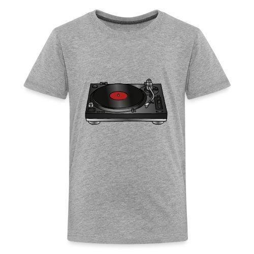 Plattenspieler VINYL - Teenager Premium T-Shirt