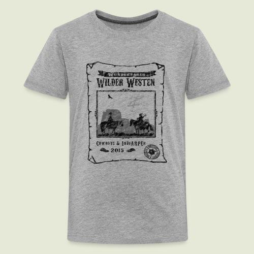 Zeltlager 2015 Motiv - Teenager Premium T-Shirt