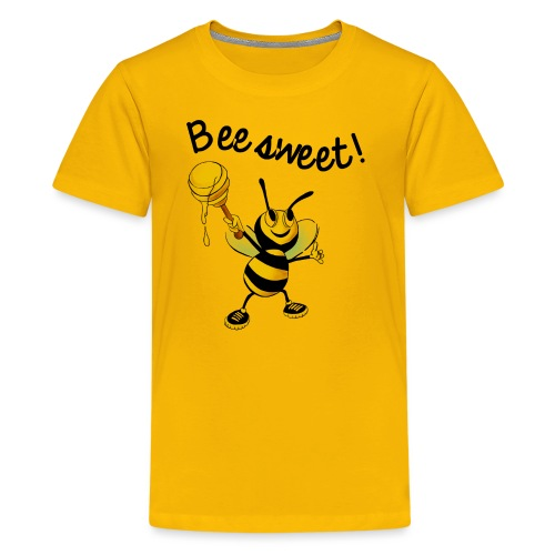 Bees7-2 Bienen sind süß | save the bees - Teenage Premium T-Shirt