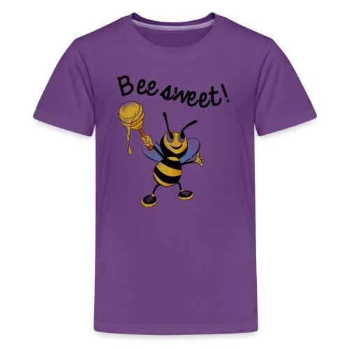 Bees7-2 Bienen sind süß   save the bees - Teenage Premium T-Shirt