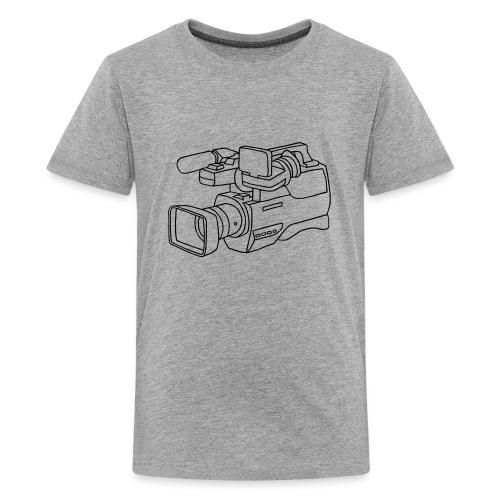 Video Kamera - Teenager Premium T-Shirt