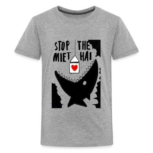 haifisch 02 - Teenager Premium T-Shirt