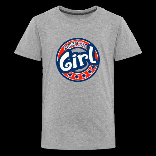 Girl - Camiseta premium adolescente