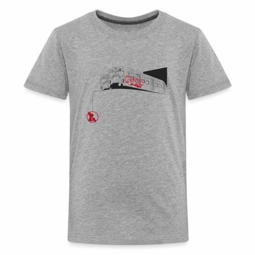 2wear Trains ver01 - Teenager premium T-shirt