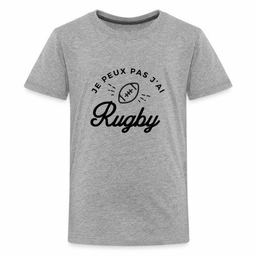Rugby - T-shirt Premium Ado