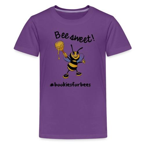 Bees7-1 Bienen sind süß   save the bees - Teenage Premium T-Shirt