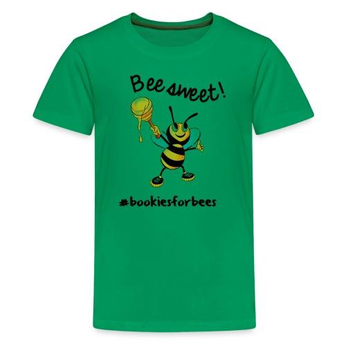 Bees7-1 Bienen sind süß | save the bees - Teenage Premium T-Shirt