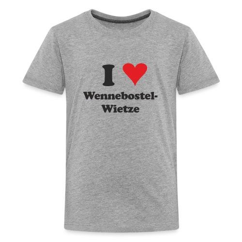 I Love Wennebostel-Wietze - Teenager Premium T-Shirt