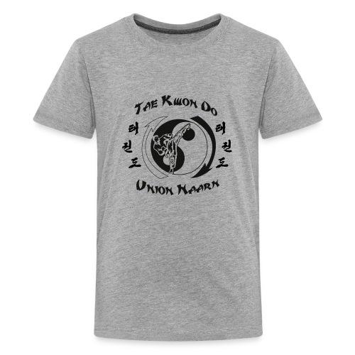 Logo schwarz - Teenager Premium T-Shirt