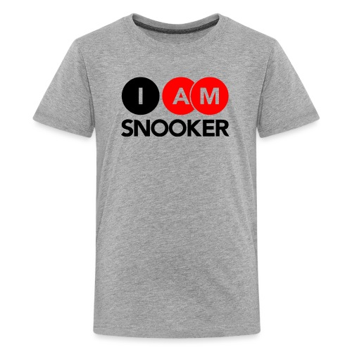 I AM SNOOKER - Teenage Premium T-Shirt