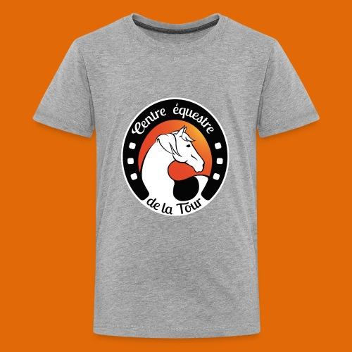 Centre Equestre de la Tour - T-shirt Premium Ado