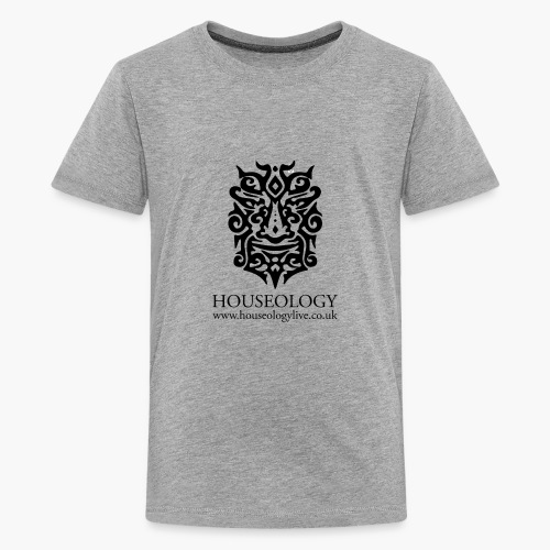 Houseology Official - black - Teenage Premium T-Shirt