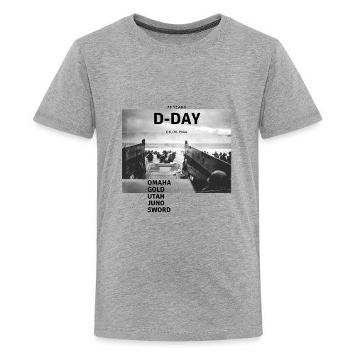 75 Jahre D-Day - Teenager Premium T-Shirt