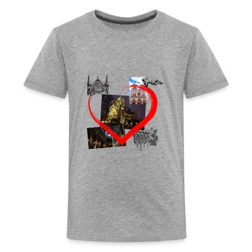 Notre Dame de Paris - Teenager Premium T-Shirt