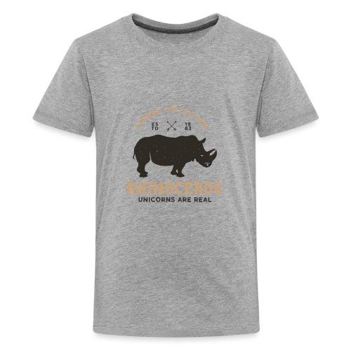 Einhörner sind real... - Teenager Premium T-Shirt