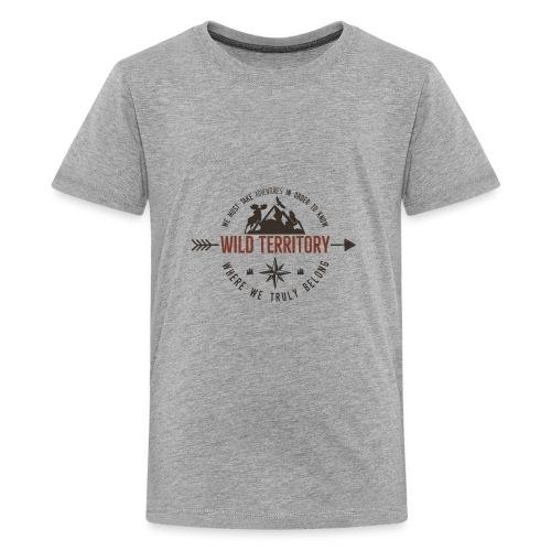 Wild Territory - Teenager Premium T-Shirt