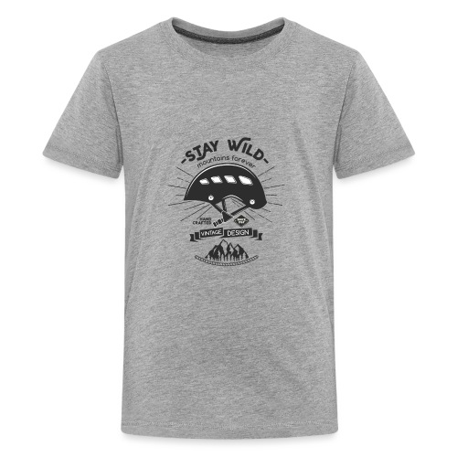 Mountains Forever - Teenager Premium T-Shirt