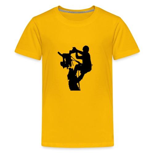 Arborist Baumpfleger - Teenager Premium T-Shirt