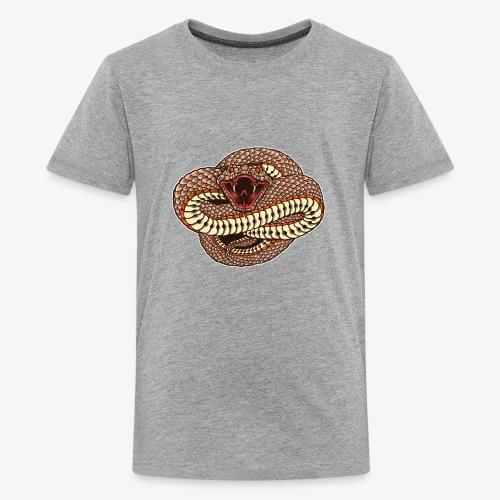 Wild und gefährlich - Teenager Premium T-Shirt