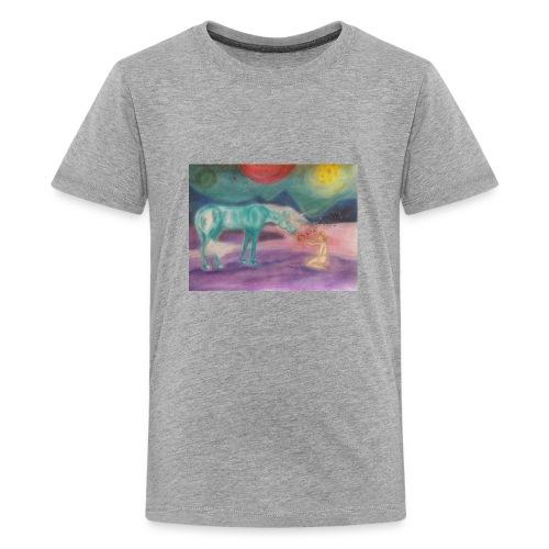 Einhornzauber - Teenager Premium T-Shirt
