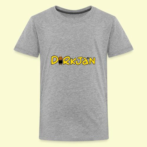 DIRKJAN Logo - Teenager Premium T-shirt