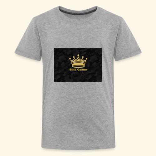 youtube design - Teenage Premium T-Shirt
