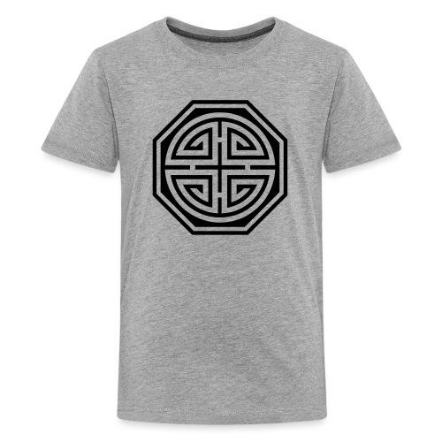 Chinesisches Glücks Symbol, Four Blessings, Segen - Teenager Premium T-Shirt