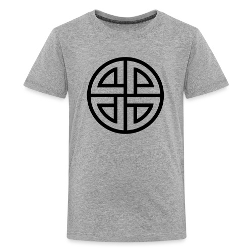 Thor Schildknoten, 4 Element, viking, celtic knot - Teenager Premium T-Shirt