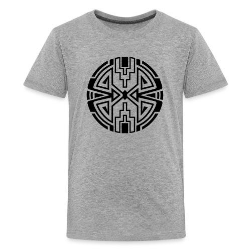 Indianer Kreis Symbol Pfeil Diamant Konzentration - Teenager Premium T-Shirt