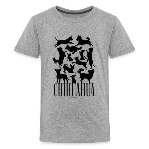Chihuahua Black - Teinien premium t-paita