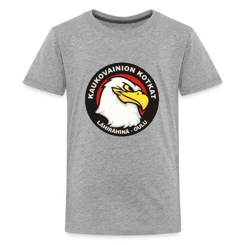 Kaukovainion Kotkat - Teinien premium t-paita