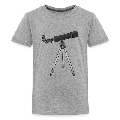 Teleskop Astronomie c - Teenager Premium T-Shirt