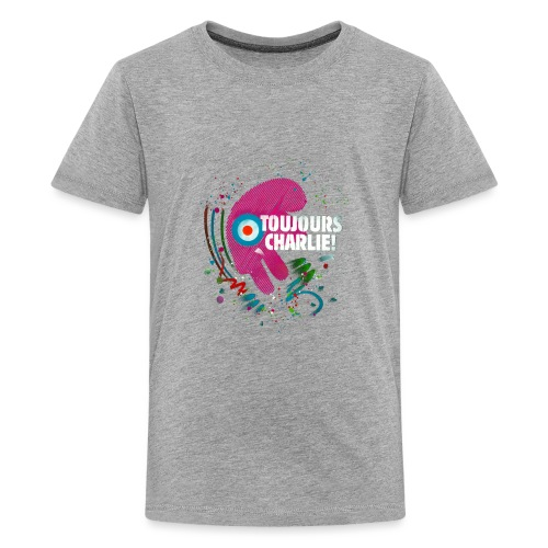 Toujours Charlie interprété par l'artiste C215 - T-shirt Premium Ado
