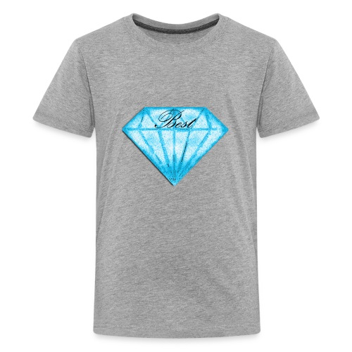Best diamont - Camiseta premium adolescente