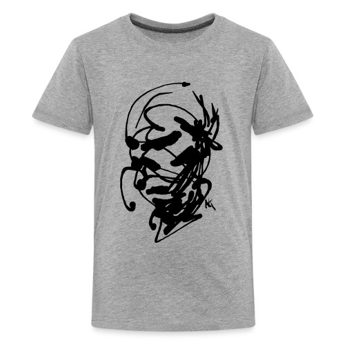 face - Teenage Premium T-Shirt