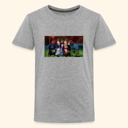 PV-Bike Trip Propaganda - Teenager Premium T-Shirt