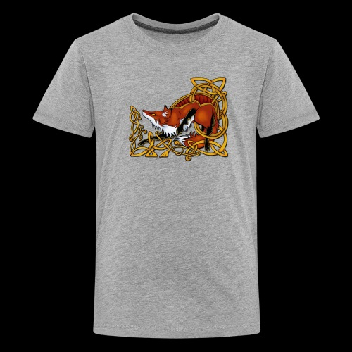 Celtic Fox - Teenage Premium T-Shirt