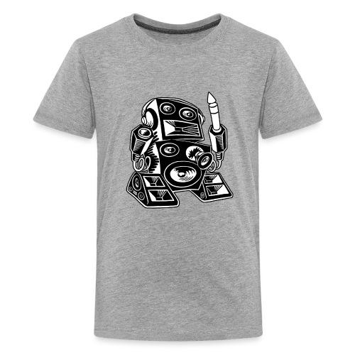 Techno-Bot 2 - Teenager Premium T-Shirt