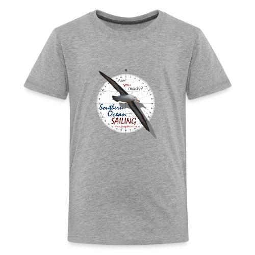 southern ocean sailing - Teenager Premium T-Shirt