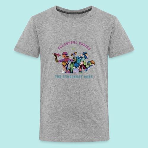 Vegetarian@s/vegan@s - Camiseta premium adolescente