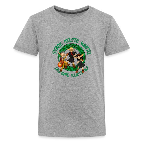 Celtic Whirl Stage - T-shirt Premium Ado
