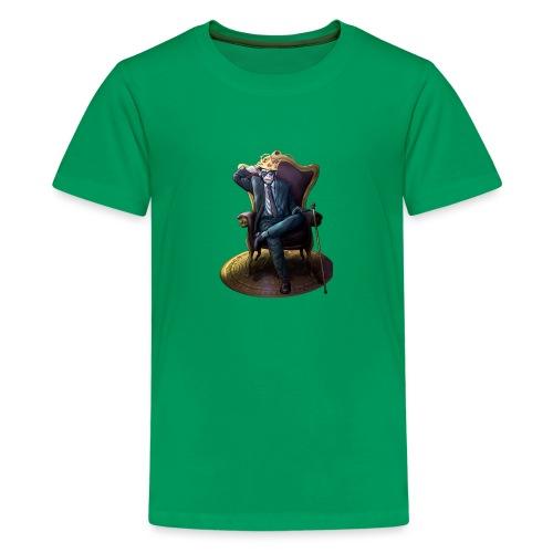 Bitcoin Monkey King - Gamma Edition - Teenager Premium T-Shirt