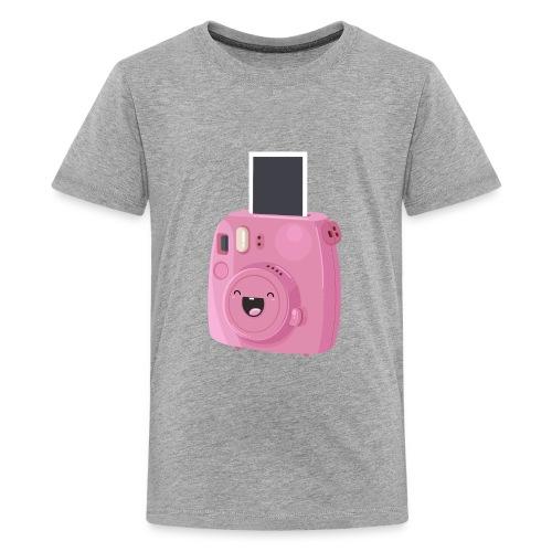Appareil photo instantané rose - T-shirt Premium Ado