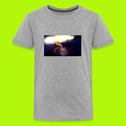 Hoodie Grau | Handyhülle samsung - Teenager Premium T-Shirt