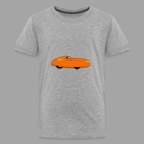 Quest velomobile - Teinien premium t-paita