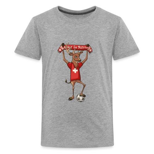 Allez la Suisse - Teenager Premium T-Shirt