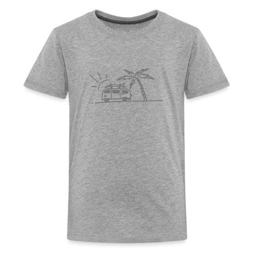 Van Bus - Teenager Premium T-Shirt