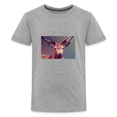 Hirsch jpg - Teenager Premium T-Shirt