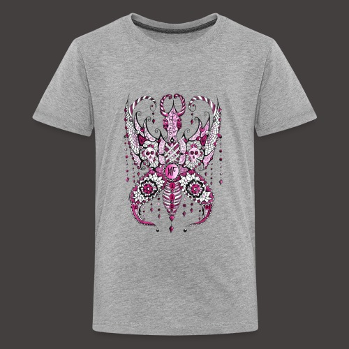 Papillon Lilou Rose - T-shirt Premium Ado